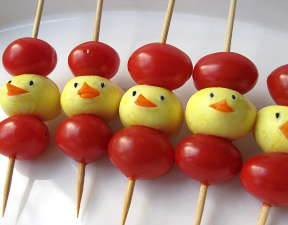 These mozzarella chicks might be too cute to eat!
