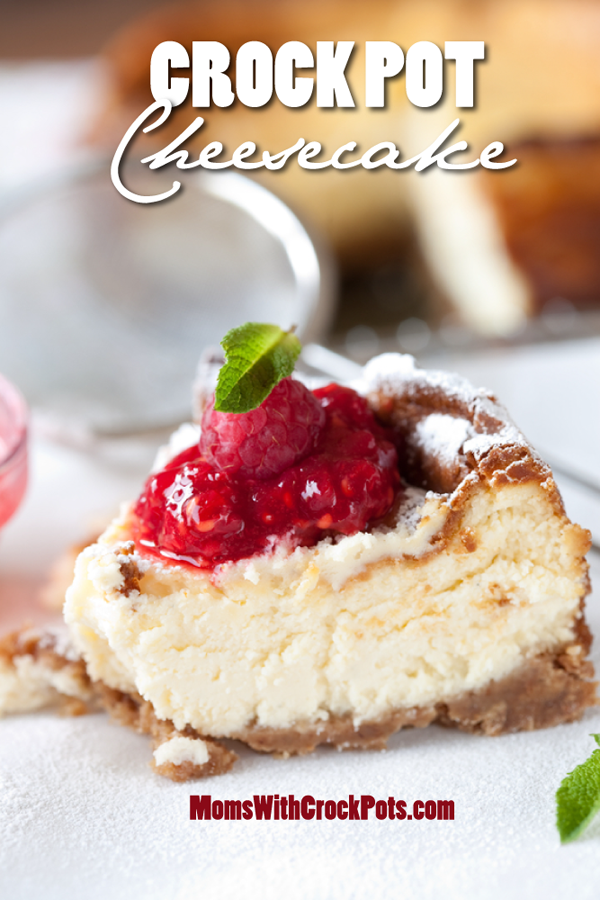In a Crockpot? Oh yes you can: Crockpot cheesecake.